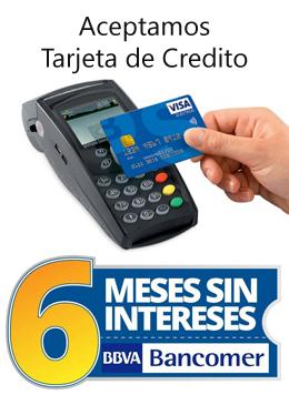 Aceptamos tarjeta de credito - Decoraciones Suro