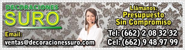 Atención al Cliente - Decoraciones Suro