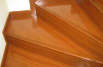 Piso Laminado en escalera Hermosillo 3 – Decoraciones Suro